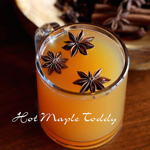 Hot Maple Toddy Jar Candle