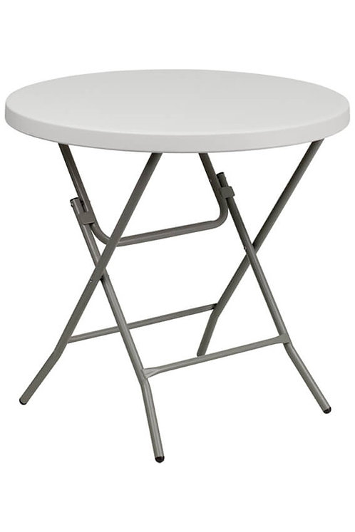 Round Plastic Table (folding)