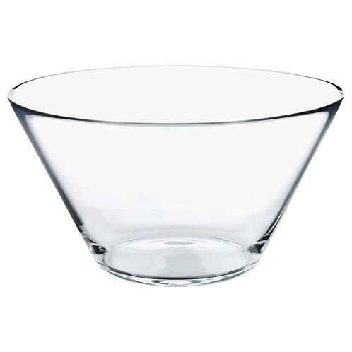 "Glass Salad Bowl 8"""