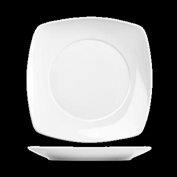 """Dinner Plate 10"""" Art De Cuisine Square"""