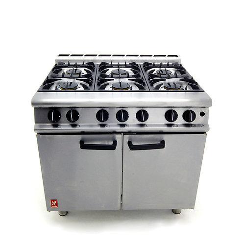 Six Burner Oven