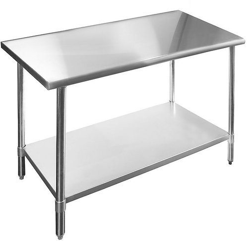 Preparation Table 6ft Stainless Steel