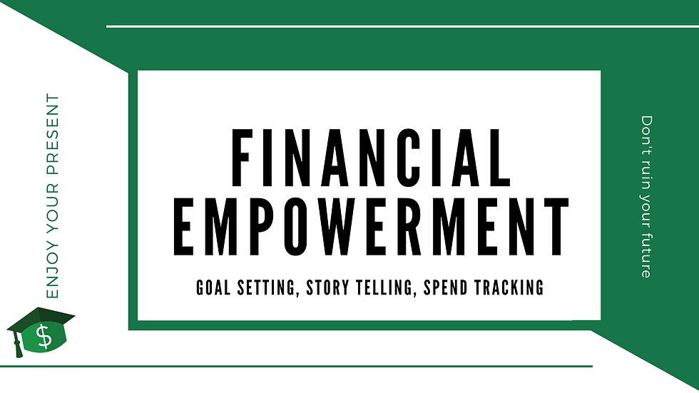 Financial Empowerment Full 1 hr Webinar and Worksheets