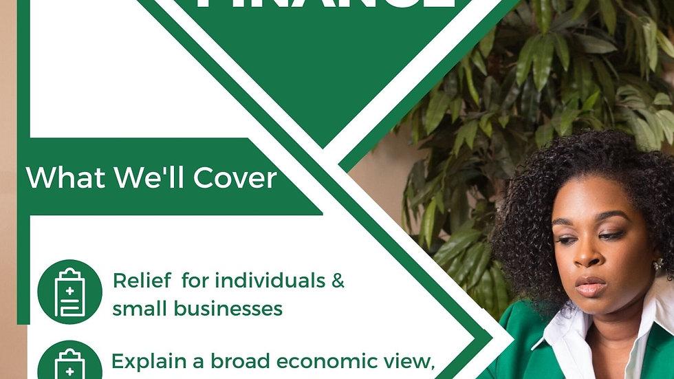 COVID-19 Finance webinar