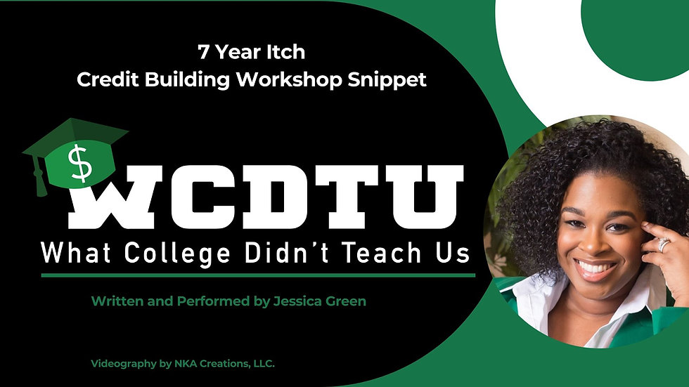 Creditor 7 Year Itch Lesson (5 min video)