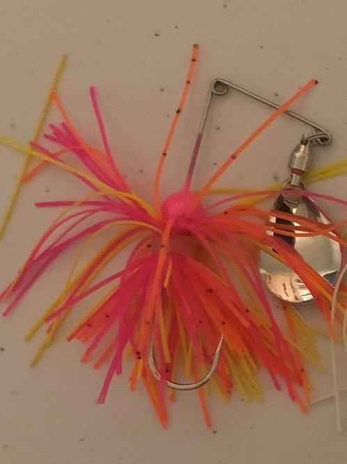 Micro spinner bait