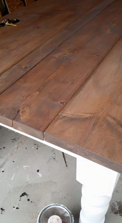 kitchen table top