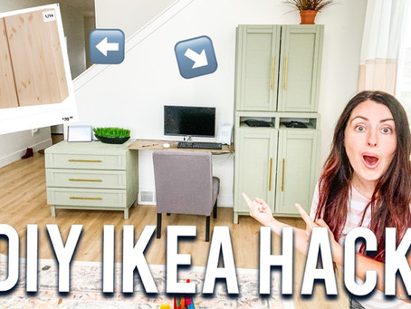 BEST DIY IKEA HACK BUILT IN