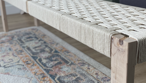How to make a Woven Bench