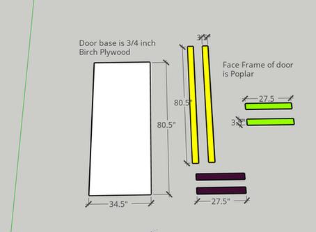 DIY - 3 Panel barn door!