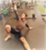 Jacob Bannach exercising
