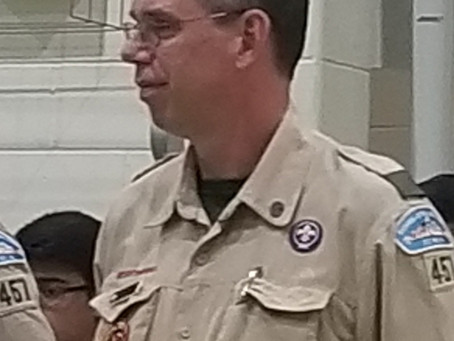 New Scoutmaster Announcement