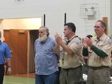 Three Great Scoutmasters