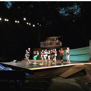 The Tempest Rehearsal