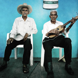 El Negro Tadeo y Don Elías Melendez