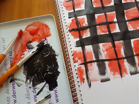 Hand-Painted Tartan