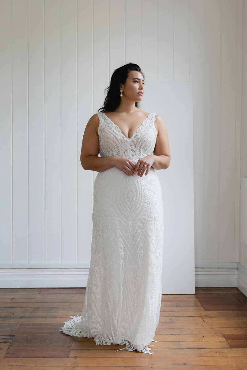 Trunks Show for Curvy Weddingsdresses. Book your Appointment