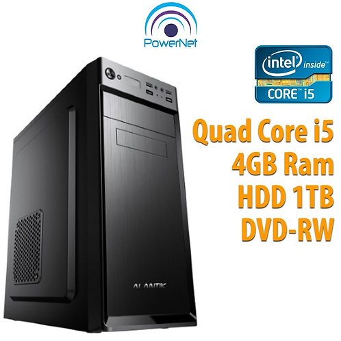 Pc Assemblato Intel Core i5-650 Ram 4GB Hard Disk 1TB DVD-RW HD