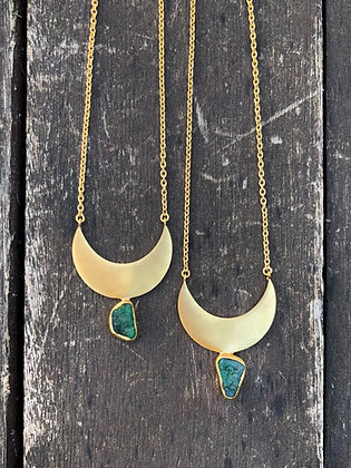 Emerald Crescent Moon