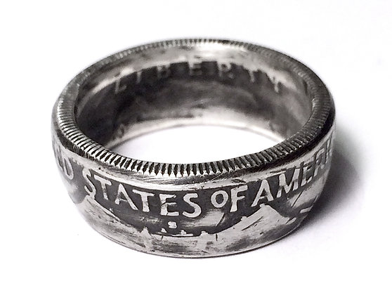 Liberty Bell Coin Ring