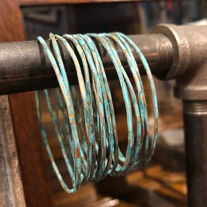 Thin Copper Bangles