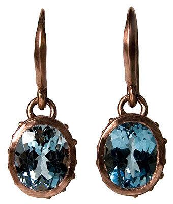 Oval Dot Earrings