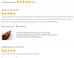 Etsy Reviews