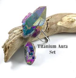 Titanium Aura Set