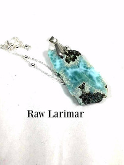 Raw Larimar