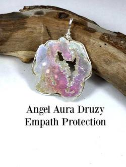 Angel Aura Druzy Pendant