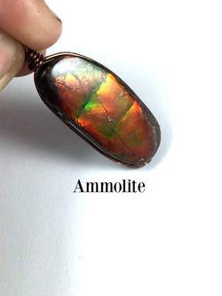 Ammolite Pendant