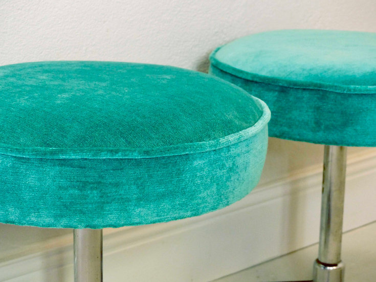 Pair of 1960s stools