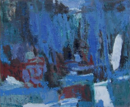 Night (30x36; oil; 2012)