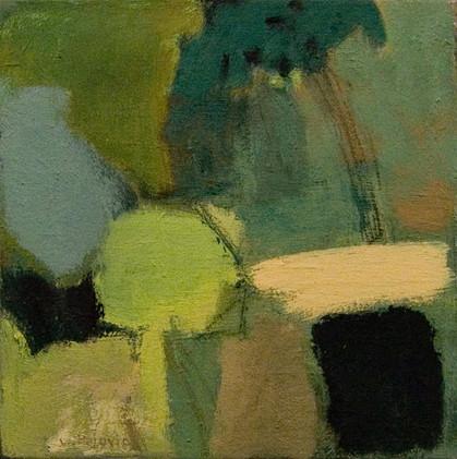Tree (12x12, oil; 2012)