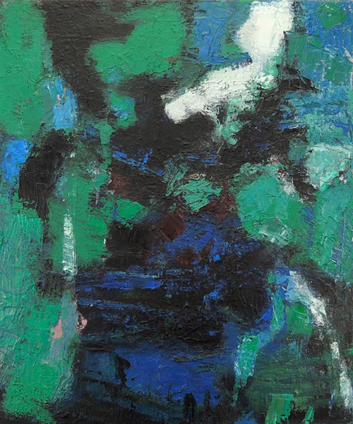 Luna (24x20, oil; 2012)