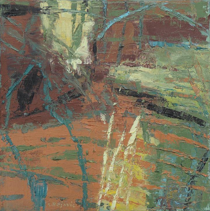Water's Edge (12x12, oil; 2013)