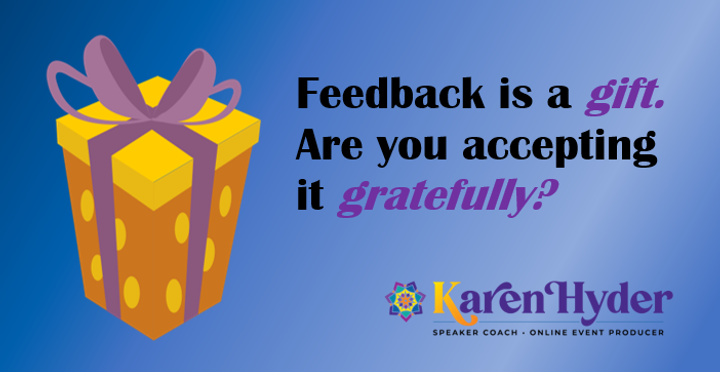 BLUE feedback gift - saved as PNG - READ
