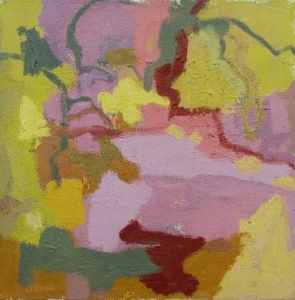 Sunday (14x14, oil; 2008)
