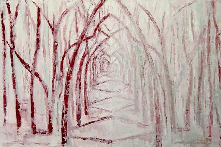 A Winter's Tale (24x36, oil; 2014)