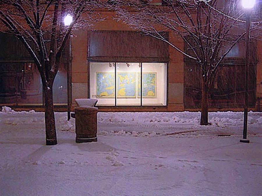 Oasis (64x144, triptych, oil; 2008)