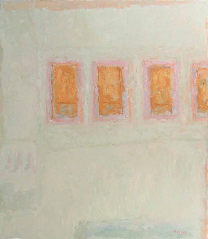 Four Windows (48x42, oil; 2006)