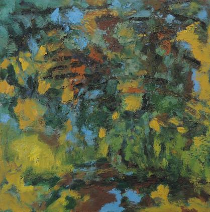 Autumn Rain (24x24, oil; 2013)