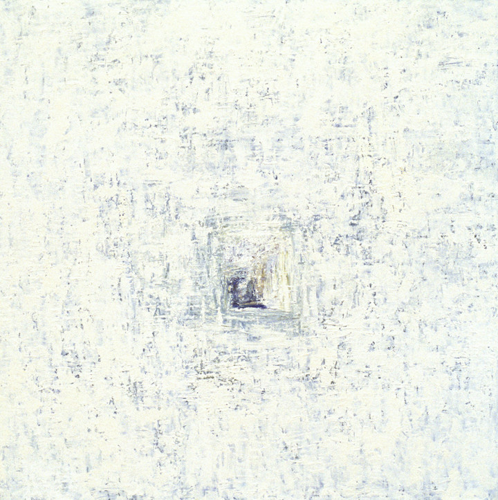 Voice (48x48, oil; 1999)