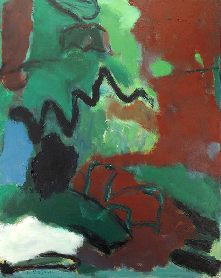 Sunshadow (28x22, oil; 2012)