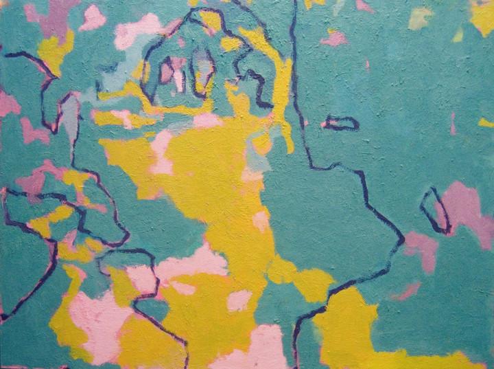 Map of My Garden (30x40, oil; 2007)