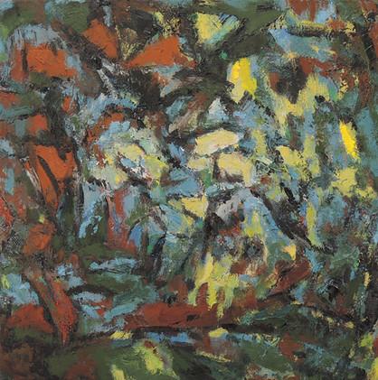 Autumn Wind (24x24, oil; 2013)