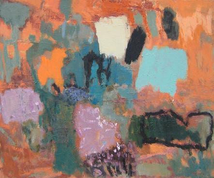 Day (30x36, oil; 2012)
