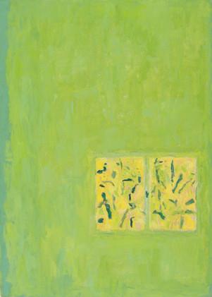 Window (42x30, oil; 2004)