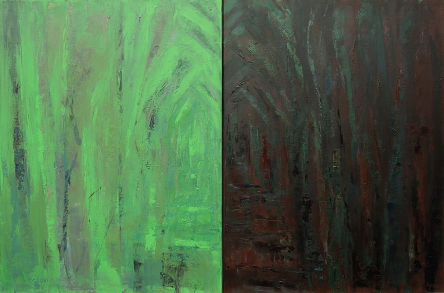 Chorale (24x36, oil; 2014)