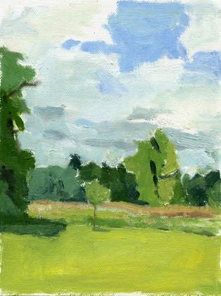 Linwood Field (6x8; 2007)